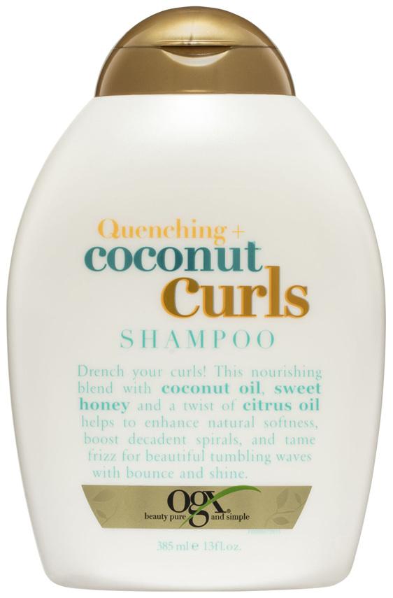 OGX Quenching + Coconut Curls Shampoo 385mL