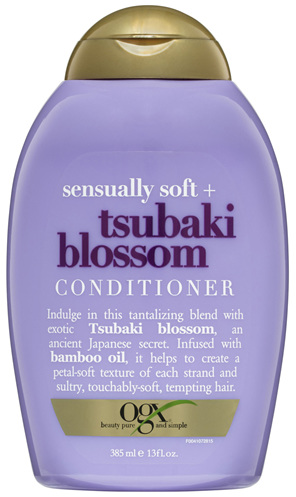 OGX Sensually Soft + Tsubaki Blossom Conditioner 385mL