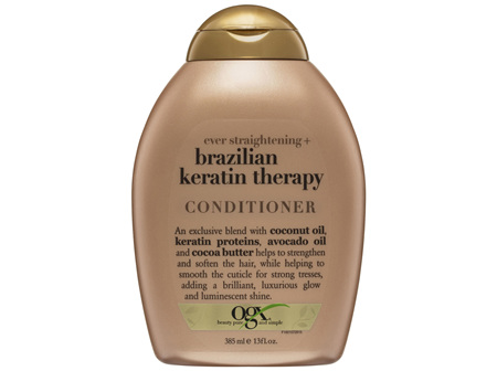 OGX Straightening Brazilian Keratin Therapy Conditioner 385mL