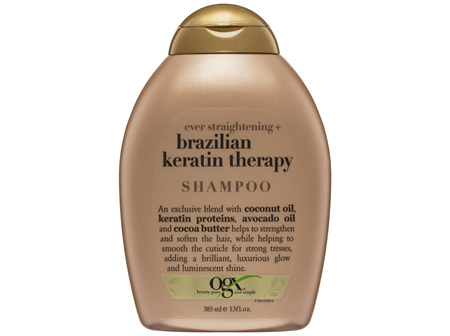 OGX Straightening Brazilian Keratin Therapy Shampoo 385mL