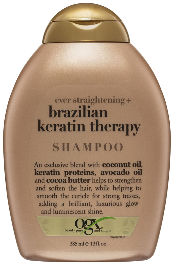 OGX Straightening Brazilian Keratin Therapy Shampoo 385mL