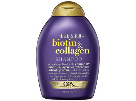 OGX Thick & Full + Biotin & Collagen Shampoo 385mL