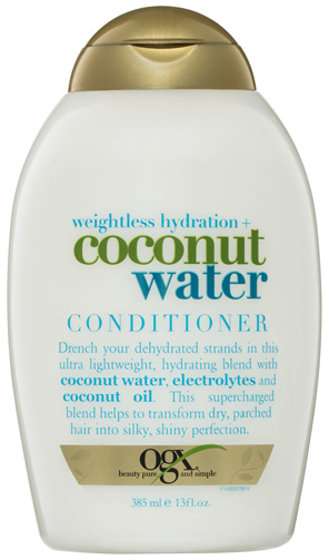 OGX Weightless Hydration + Coconut Water Conditioner 385mL