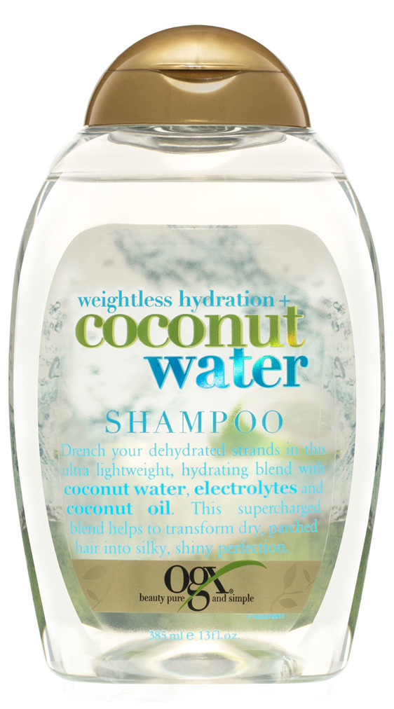 OGX Weightless Hydration + Coconut Water Shampoo 385mL