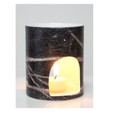 Oil Burner - Black Wood
