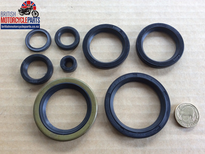 Oil Seal Set - BSA Triumph Triples