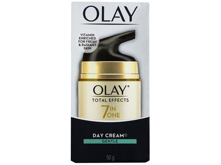 Olay Total Effects Face Cream Moisturiser Gentle 50g
