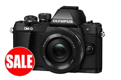 Olympus OMD EM 10 mark ii 14-42 + 40-150 + 45mm
