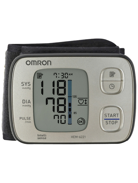 Omron HEM6221 Premium Wrist Blood Pressure Monitor