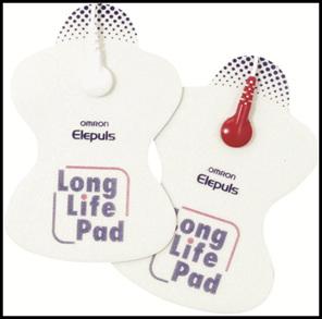 Omron TENS Long Life Pads- 1 Set (2 pcs)
