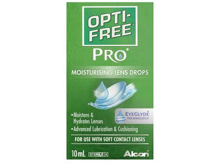 OPTI-FREE PRO Moisturising Lens Drops 10mL