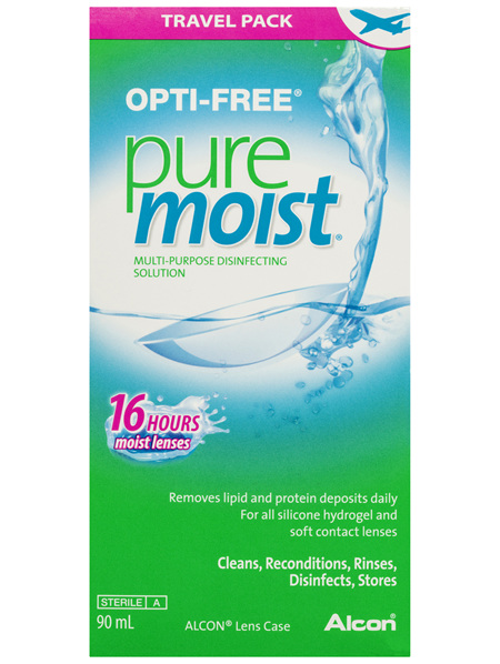 OPTI-FREE PureMoist Travel Pack 90ml