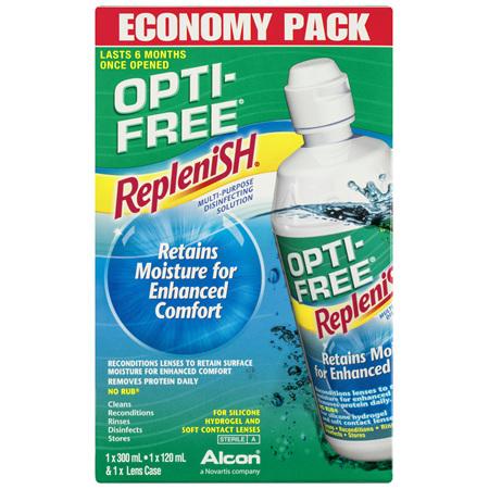 OPTI-FREE Replenish Economy Pack