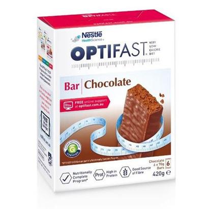 OPTIFAST Bars Chocolate 6x70g