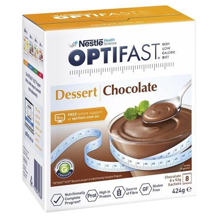 OPTIFAST Dessert Chocolate 8x53g