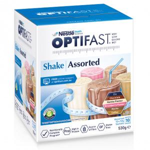 OPTIFAST Shake Assorted 10x53g