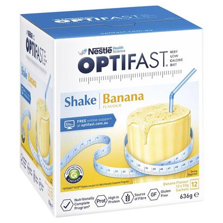 OPTIFAST Shake Banana 12x53g