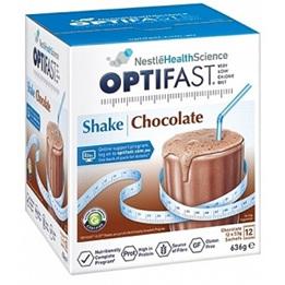 OPTIFAST Shake Chocolate 12x53g