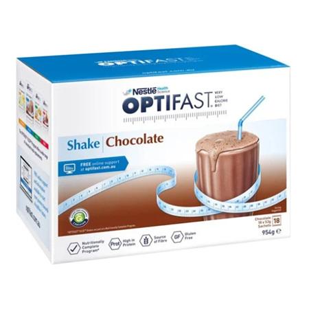 OPTIFAST Shake Chocolate 18x53g