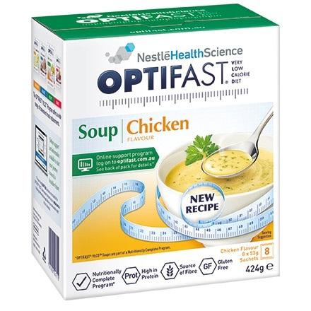 OPTIFAST Soup Chicken 8x53g