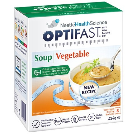 OPTIFAST Soup Vegetable 8x53g