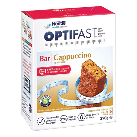 OPTIFAST VLCD Bar Cappuccino 6x65g