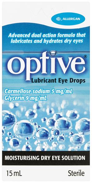 Optive Lubricant Eye Drops 15mL