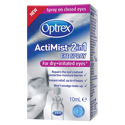 Optrex Actimist Dry & Irritated Eyes - 10mL