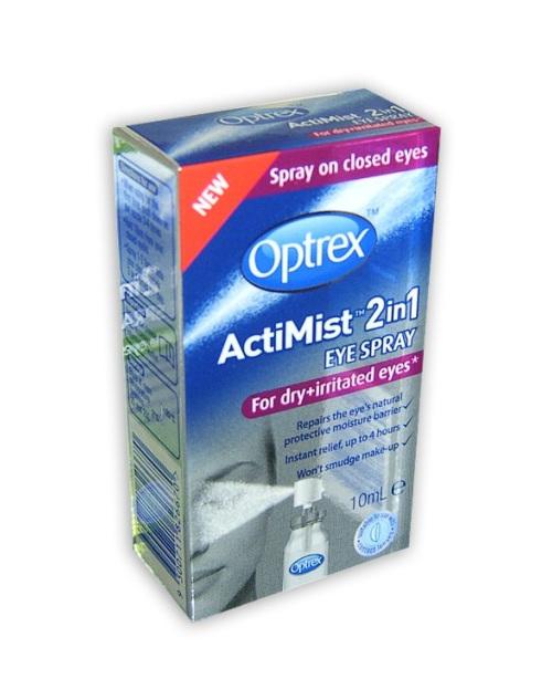 Optrex Actimist Dry &Irritated Eyes 10ml