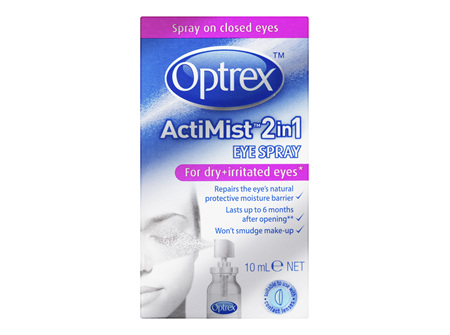 Optrex Actimist Dry & Irritated Eyes Spray 10ml