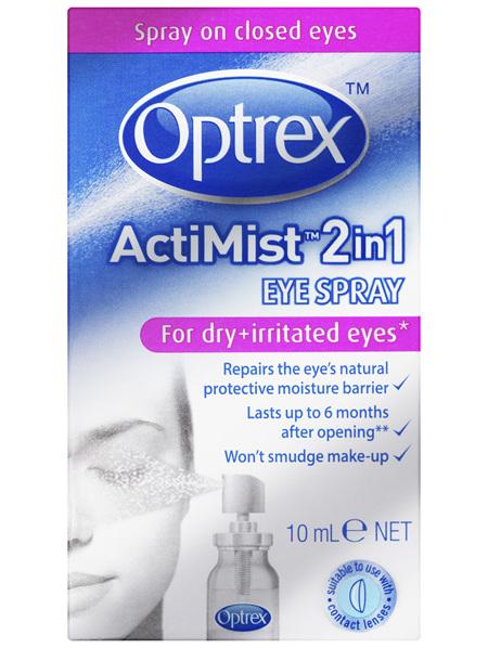 Optrex Actimist Dry & Irritated Eyes Spray 10ml