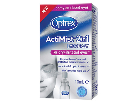 Optrex ActiMist Eye Spray for Dry Eyes 10ml