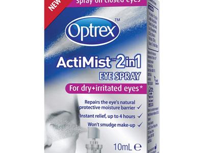 Optrex ActiMist Eye Spray for Dry Eyes 10ml