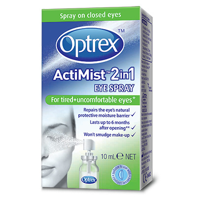 Optrex ActiMist Tired & Uncomfortable Eyes - 10ml