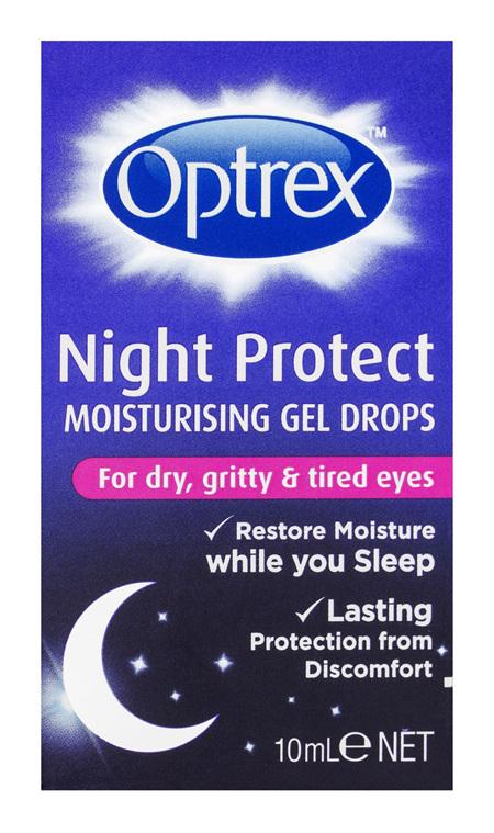 Optrex Night Protect Gel Eye Drops 10ml