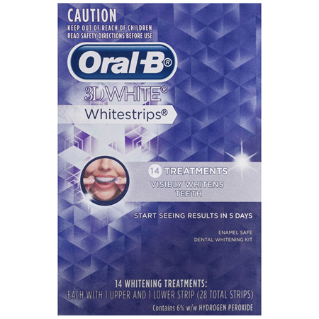 Oral-B® 3D White® Whitestrips® 14 Treatments