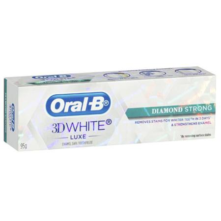 ORAL B 3DWhite Luxe Diamond Strength Tooth Paste 95g