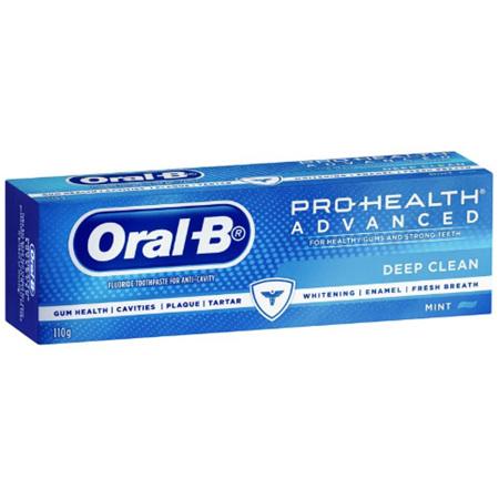 ORAL B Advanced Deep Clean 110g