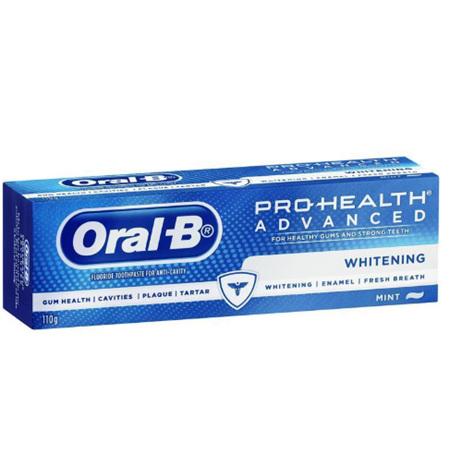 ORAL B Advanced Whitening 110g