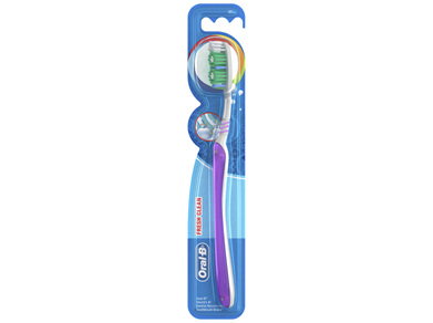 Oral-B All Rounder Fresh Clean Soft Manual Toothbrush 1 Pack
