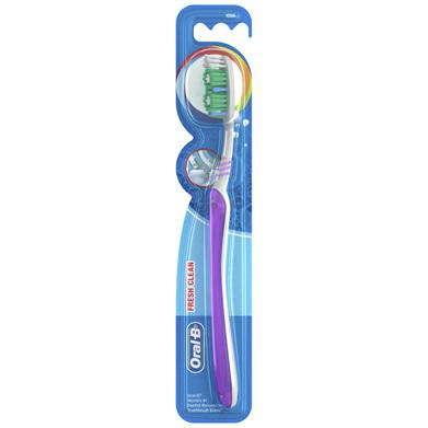 Oral-B Fresh Clean Toothbrush Medium 1 Pack