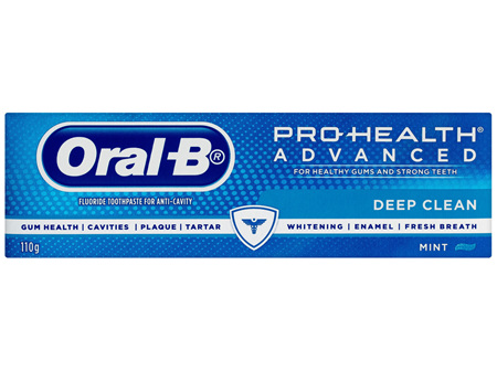 Oral-B Pro Health Advanced Deep Clean Toothpaste 110g
