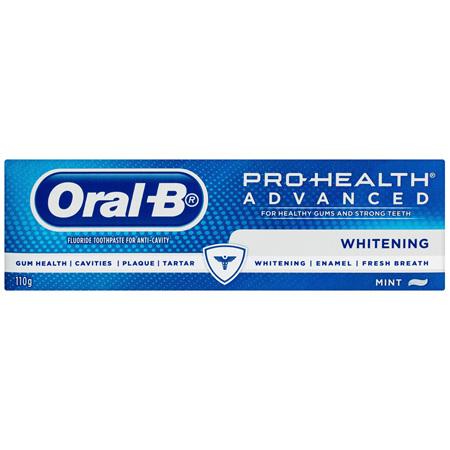 Oral-B Pro Health Advanced Whitening Toothpaste 110g