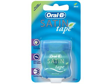 Oral-B Satin tape Mint Dental Floss 25m