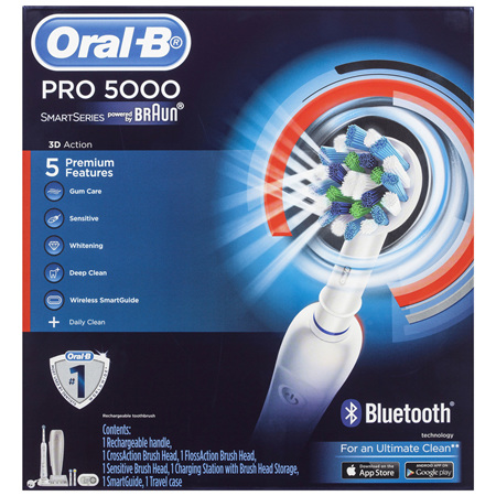 Oral-B SmartSeries Pro 5000 Electric Toothbrush