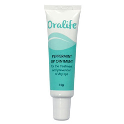 Oralife Peppermint Lip Ointment 15g
