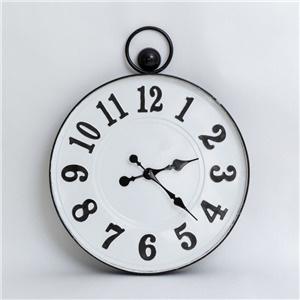 Oslo Enamel Clock