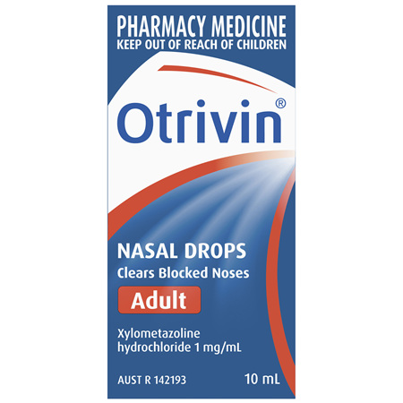 Otrivin Adult Nasal Drops 10mL