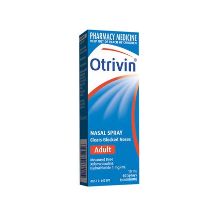Otrivin Adult Nasal Spray - 10mL