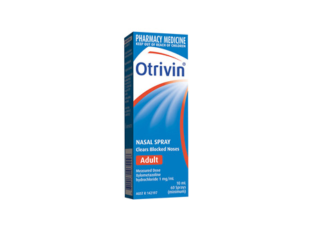 Otrivin Adult Nasal Spray - 10mL